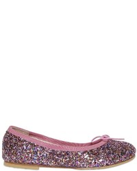 Bloch Glittered Leather Ballerinas