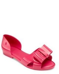 Mini Melissa Kids Bow Dorsay Flats