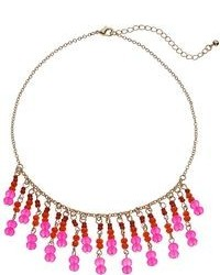 Apt. 9 Bead Collar Bib Necklace