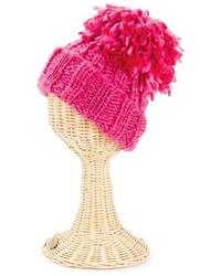San Diego Hat Company Oversized Pom Knit Beanie