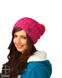 Protest Bolivar Beanie Pink Candy