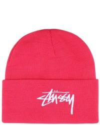 Stussy Embroidered Logo Beanie Hat
