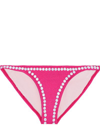 Norma Kamali Eric Low Rise Studded Bikini Briefs