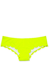 bb7c84f669843 Victoria's Secret Pink Scalloped Mini Bikini Bottom, $24 ...