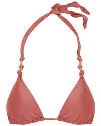 Duchesse paula triangle bikini top blush medium 964650