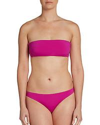 Solid Convertible Bandeau Bikini Top