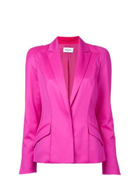 Mugler Long Sleeved Blazer Jacket