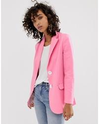 ASOS WHITE Oversized Suit Jacket