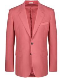 Alexander McQueen Single Breasted Tailored Blazer