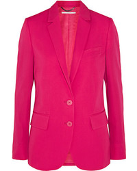 Sofia wool twill blazer fuchsia medium 4413188