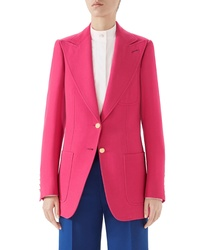 Gucci Two Button Blazer