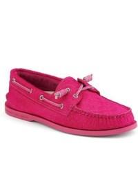 Hot Pink Boat Shoes for Men   Men's Fashion