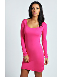 Collection Hot Pink Bodycon Dress Pictures - Reikian
