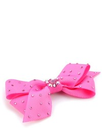 Classic pink grosgrain bow anywhere clip medium 115855