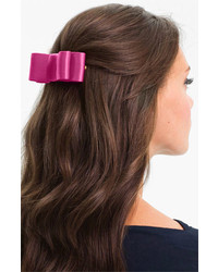 L Erickson Wide Couture Bow Barrette