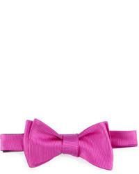 Ted Baker Solid Twill Bow Tie Fuchsia