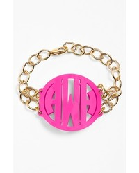 Moon and Lola Annabel Large Personalized Monogram Bracelet