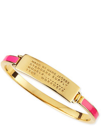 Marc by Marc Jacobs Enamel Standard Supply Bangle Pink