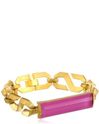 Sam Edelman S Chain Pink Identification Bracelet 725