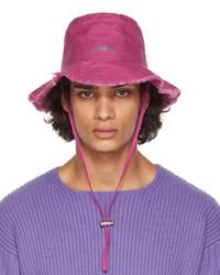 Jacquemus Pink Le Bob Artichaut Hat