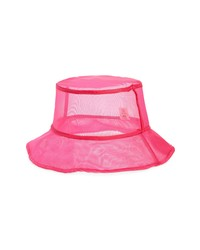 Open Edit Sheer Bucket Hat