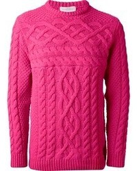 Cable knit sweater medium 53467
