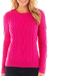 Joe Fresh Long Sleeve Cable Knit Sweater | Where to buy & how to wear