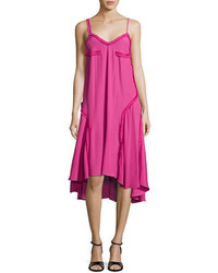 Cédric Charlier Cedric Charlier Ruffled Crepe Cami Dress