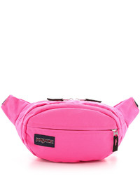 Hot Pink Canvas Fanny Pack