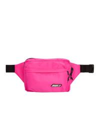 MSGM Pink Logo Bum Bag
