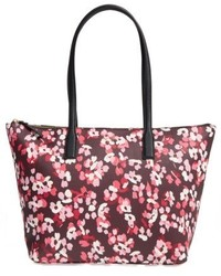 New york young lane nyssa coated canvas tote pink medium 4913057