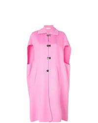 Hot Pink Cape Coat