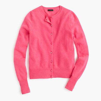 Jcrew Italian Cashmere Cardigan Sweater Where To Buy How To Wear