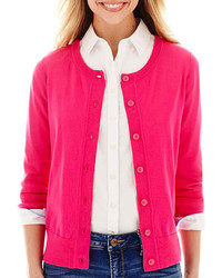 ea70d77d3 Women s Hot Pink Sweaters from jcpenney