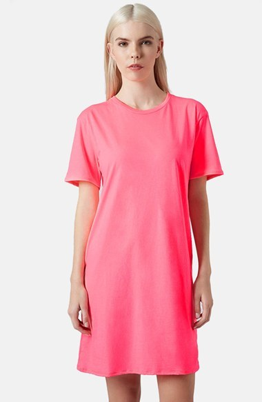 Topshop Boutique Fluro T Shirt Dress | Where to buy & how to wear