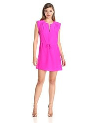 Amanda Uprichard Market Silk Tiewaist Dress