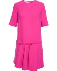 Marni Gathered Pleat Shift Dress