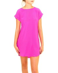 Casual Hot Pink Dresses - Missy Dress