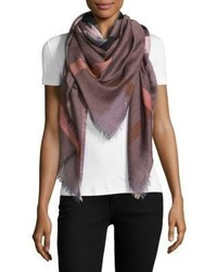 Burberry Relaxed Mega Check Silk Scarf