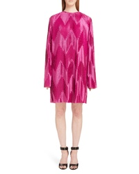 Givenchy Zigzag Pleated Jersey Dress