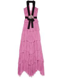 Gucci Silk Chiffon Gown