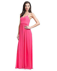 Belle badgley mischka x back maxi dress medium 283972