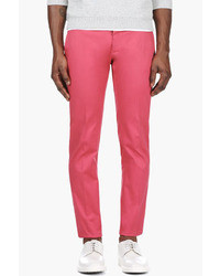 DSquared 2 Coral Pink Slim Trousers