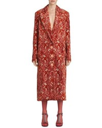Burberry Damask Velvet Jacquard Coat