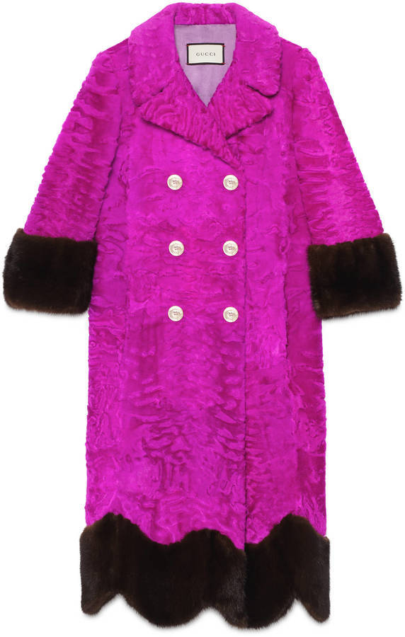 1f31aaf72 Gucci Lamb And Mink Fur Coat, $39,000 | Gucci | Lookastic.com