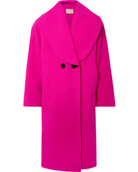Marc Jacobs Oversized Double Breasted Wool Blend Coat