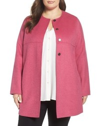 Plus Size Persona By Marina Rinaldi Noce Wool Blend Coat