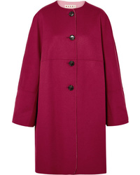 Marni Reversible Wool And Cashmere Blend Coat