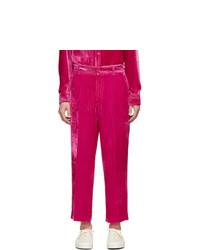 Sies Marjan Pink Corduroy Alex Fluid Trousers