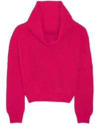 Ribbed cashmere sweater medium 344162